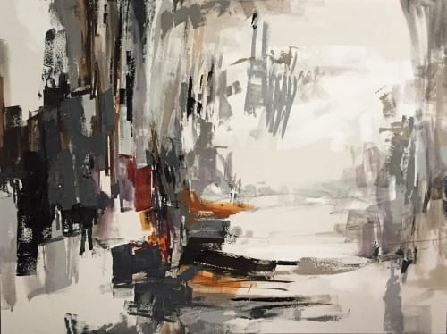 Keys Are in my Pocket and They Rattle You Awake   Paintings by Ashley Sullivan