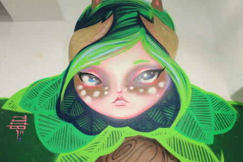 Murals by Yuhmi Collective seen at Whole Foods Market, Miami - Mother Earth & Her Taste Buds