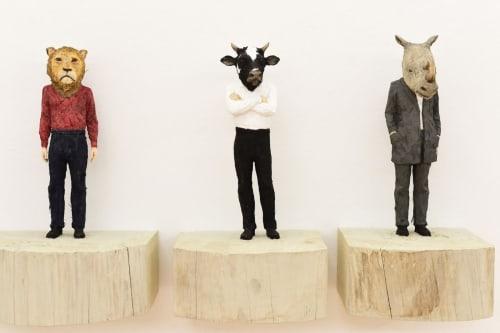 Stephan Balkenhol - Sculptures and Art