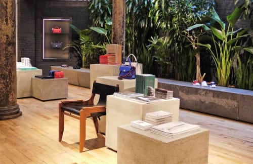 Chairs by Doug McCollough seen at Proenza Schouler, NY, New York - Walker Easy Chair