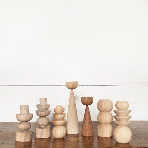 Sculptures by Bethanie Kaye seen at Post Design Collective, Toronto - Candle Holder