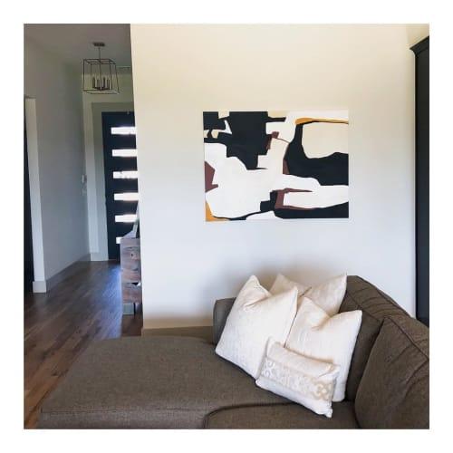 Paintings by Lizzie DiSilvestro seen at Private Residence, Bixby - Weekender Painting