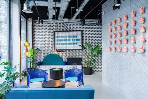Interior Design by Masquespacio at TSH Campus Barcelona Poble Sec, Barcelona - Interior Design