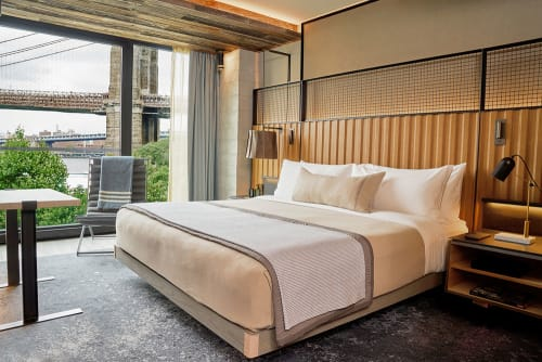 Linens & Bedding by Archipelago Designs seen at 1 Hotel Brooklyn Bridge, Brooklyn - Bed throws