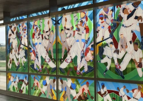 Public Mosaics by Paula Henderson seen at Sox-35th, Chicago - Game Changer