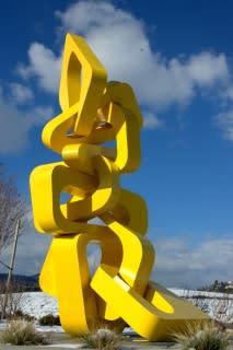 Public Sculptures by CJRDesign at Palm Desert, Palm Desert - Harmony