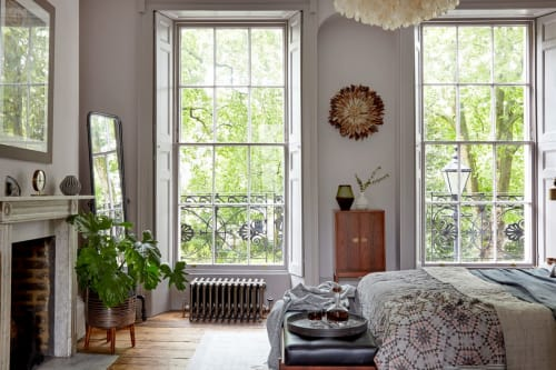 "Interior Design by Run For The Hills seen at Private Residence, London - ""Listed Townhouse"" Project"