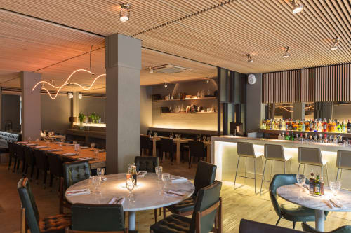 Press Bar Restaurante, Restaurants, Interior Design