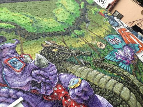 Tewsr - Street Murals and Public Art