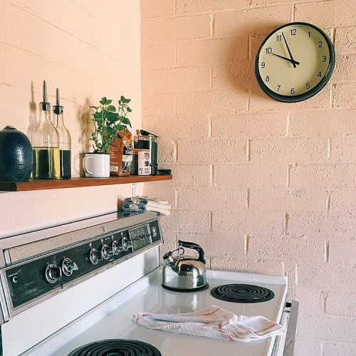 Furniture by West Elm at The Joshua Tree House, Joshua Tree - Classic Wall Clock