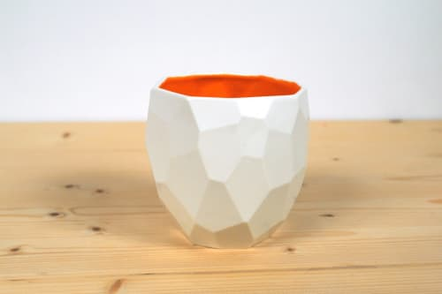 "Cups by Studio Lorier seen at Private Residence, Rotterdam - ""Poligon Coffee Cup"""