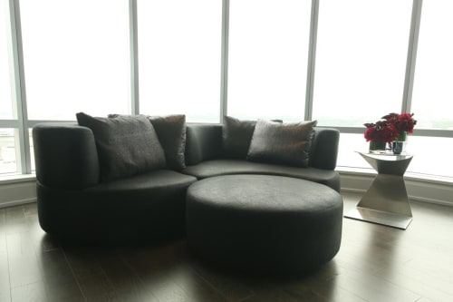 Couches & Sofas by Designlush seen at One Riverside Park, New York - DLUSH Media Group