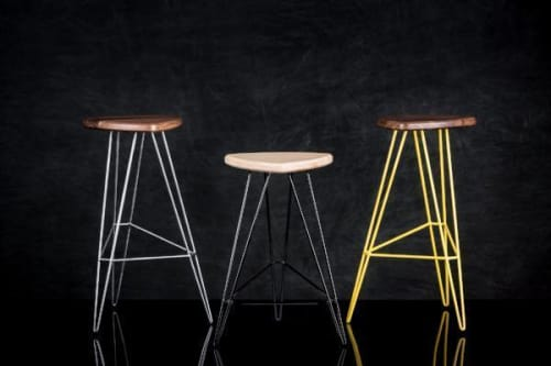 Chairs by Tronk Design seen at Yellow Fever, Torrance - Madison Stool