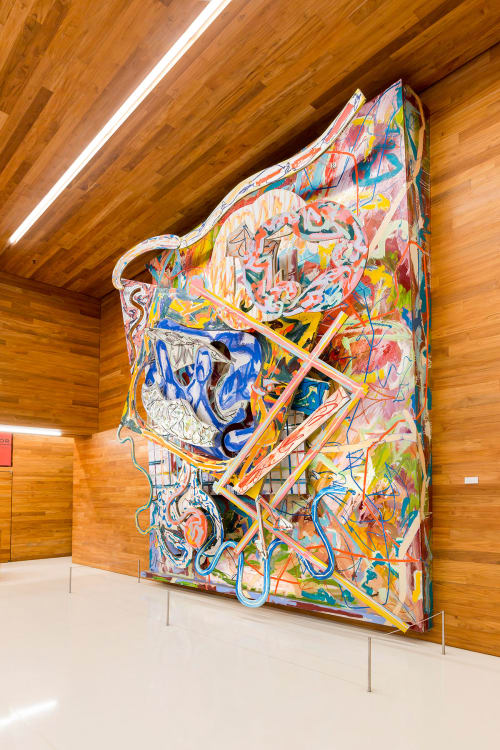 Sculptures by Frank Stella seen at LinkedIn - San Francisco, San Francisco - Shards III