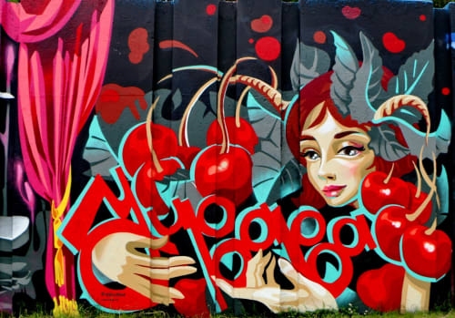 YU-BABA - Street Murals and Murals