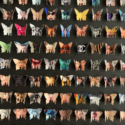 Art & Wall Decor by Lorna Doyan seen at Singer Island, Riviera Beach - Fashion Butterfly Box