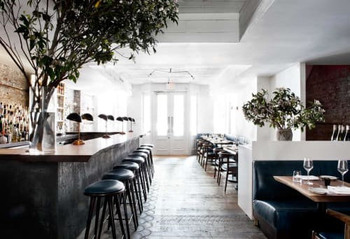 Interior Design by Alexander Waterworth Interiors seen at The Musket Room, New York - Interior Design