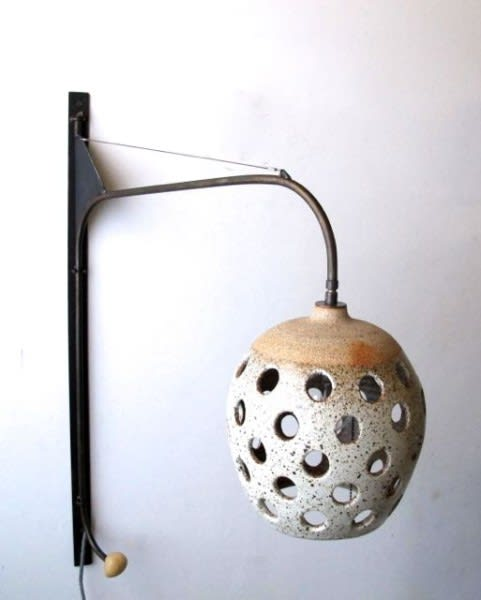 Lighting by Heather Levine seen at Ojai Rancho Inn, Ojai - Bedroom Wall Lamps