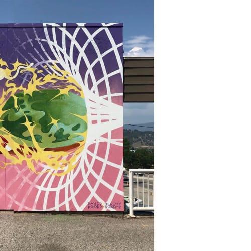 Street Murals by Uptown Murals seen at Rutland, Kelowna - Mural