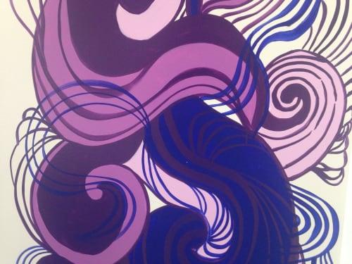 """Fillmore Room""   Murals by Liza Fishbone   School of Rock San Ramon in San Ramon"