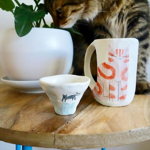 Cups by Kimberlie Wong seen at MORI by Art+Flea, Honolulu - Ceramics Cups