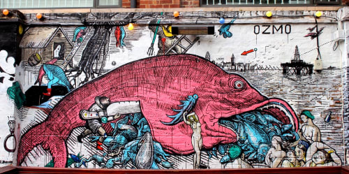 Ozmo - Street Murals and Public Art