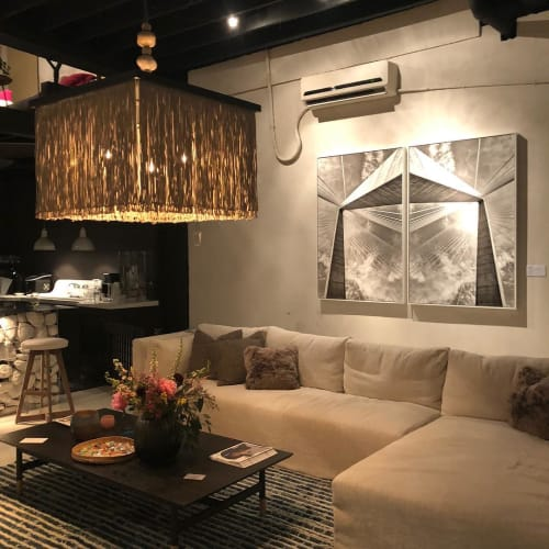 Chandeliers by M2C Studio seen at Private Residence, High Point - Sabine 36 Chandelier