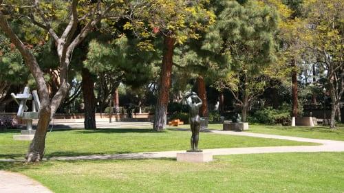 Franklin D. Murphy Sculpture Garden, Art Galleries, Interior Design