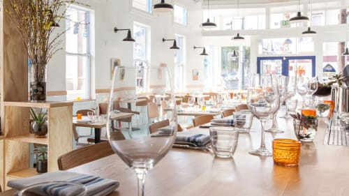 Al's Place, Restaurants, Interior Design