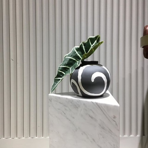 Vases & Vessels by M I D D L E  K I N G D O M seen at Bond - 55 Broadway Coworking Space, New York - Memphis Style Porcelain