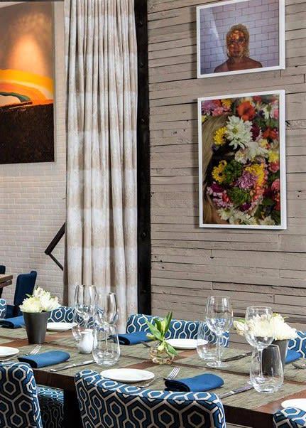 Art & Wall Decor by Erin Hael seen at Charlie Palmer Steak New York, New York - Floral Eye