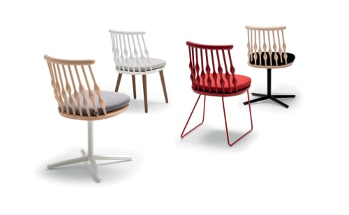 Chairs by Patricia Urquiola seen at Agern, New York - Nub Chairs