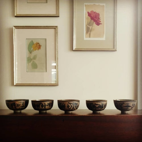 Tableware by Hollow Work by Kate Hardy at Private Residence - Ceramic Bowl