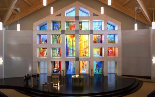 Art & Wall Decor by Scott Parsons seen at Gloria Dei Lutheran Church, Sioux Falls - Gloria Dei