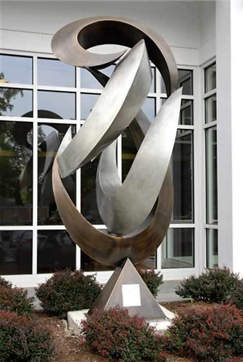 Sculptures by Eric David Laxman seen at Summit Medical Group, Berkeley Heights - Synergy