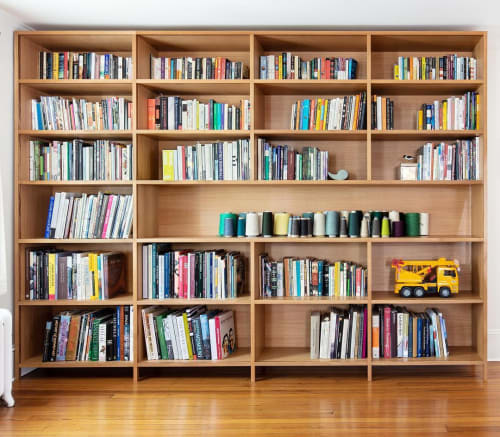 Furniture by Rexhill seen at Private Residence, Beacon - Custom Bookcase