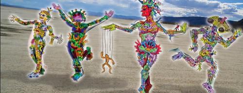 Jallen Rix - Sculptures and Art