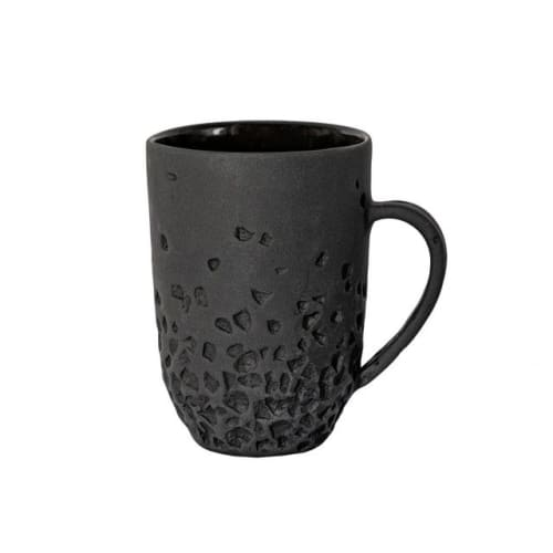 """Cups by Stratus ceramics seen at Private Residence, Warsaw - """"Mug PRIME 400 with ear 