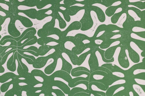 Wallpaper by Paper Mills, Inc. at Private Residence, East Hampton, New York, East Hampton - Little Havana