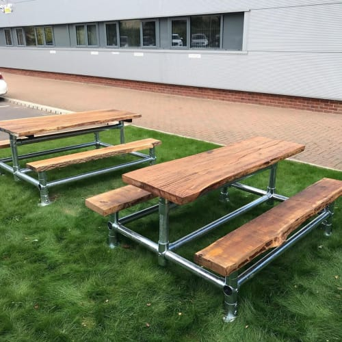 Tables by Pugiipug seen at Energy Assets, Sheffield - Picnic Tables and Benches