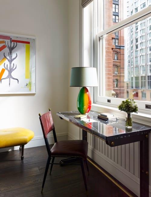 Lighting by Martin Brudnizki Design Studio seen at The Beekman, A Thompson Hotel, New York - Desk Lamp