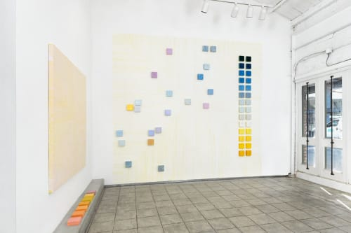Paintings by Mel Prest seen at Chandra Cerrito Contemporary, Oakland - Rainbow Weather