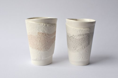 Cups by Marie-France Labrosse seen at Private Residence, Quebec City - Ceramic Cup