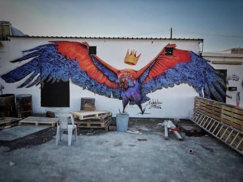 Murals by Suhaib Attar Artwork seen at Amman, Amman - Vulture