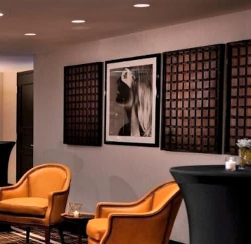 Wall Hangings by Sasha Andruzheychik seen at Kimpton Mason & Rook Hotel, Washington - Implications