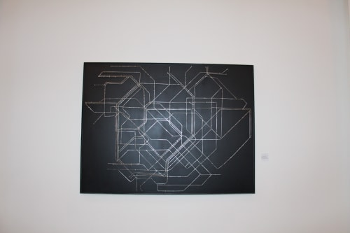 Tokyo Subway Map Art.Tokyo Subway Map By Alexis Laurent Seen At The Pearl San Francisco