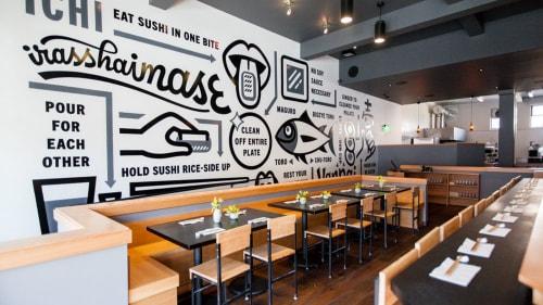 ICHI Sushi + NI Bar, Restaurants, Interior Design