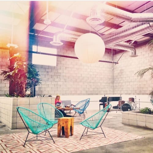 Chairs by Innit Designs at The Springs, Los Angeles - Acapulco Chair