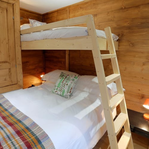 Beds & Accessories by King & Webbon seen at Hideout Hostel, Morzine - Bunkbed