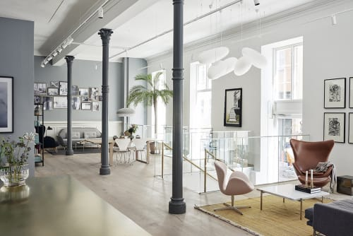 Republic of Fritz Hansen Store Copenhagen, Stores, Interior Design